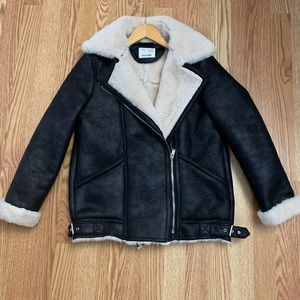 Double faced faux leather jacket (kids)
